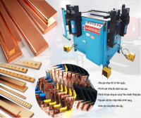 Hight quality copper busbar processing with machine and mould imprort from Korea