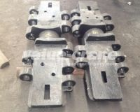 TEREX DEMAG CC 9800 TWIN track shoe track pad track plate crawler crane of crawer crane parts quality and manufacturing products