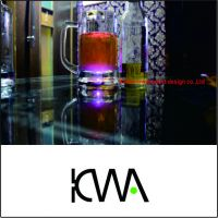 Smart Luminous Glass Cup & Logo customization