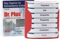 Dr Plus    Pill Storage Case    7x24  7 Days      Weekly
