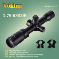 rifle scope 1.75-6X32 IR magnifier scope with your own APP