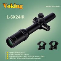 riflescope 1-6x24 magnifier scope with your own APP