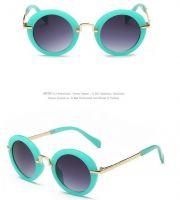 Classical Vintage Retro Sunglasses for Children Cartoon FDA CE UV400 Approved