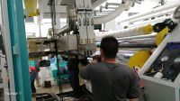 pvc cling film making machine, pvc food packing film extruder, stretch pvc cling film production line