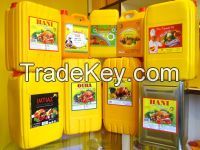 REFINED AND CRUDE  sunflower oil