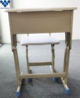 Unique design cheap fixed single school desk and chair manufacturer