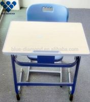Factory cheap economical easy single desk and chair