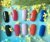 Matte nail polish professional nail uv lamp gel top coat for natural nails with OEM