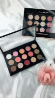 15 color nature eyeshadow plate from factory  for wholesale