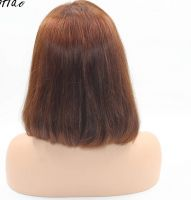 Best Selling Top Quality Wholesale 100% Unprocessed Human Hair Full Lace Bob Wig