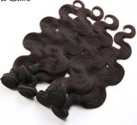 100% No Shedding Natural Color Best Selling Overseas Brazilian Hair Weave