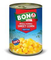 Sweet Corn - Whole Kernel - 24x400g - Easy Open