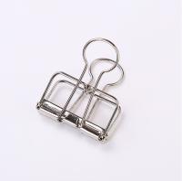 Custom printing colored office metal bulldog paper binder clip
