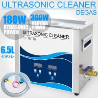 180W 6.5L Digital Ultrasonic Cleaner with Timer Heater Degas 40KHZ 110V/220V Electronic Engine Instruments Ultrasonic Washer