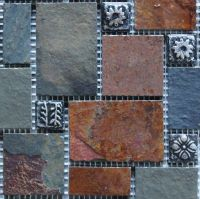 Stone Blended Resin Mosaic