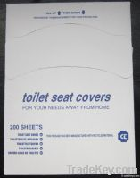 1/4 fold Disposable Paper toilet seat cover
