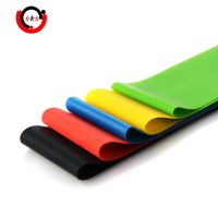 Elastic yoga resistance latex mini loop bands for workout/fitness