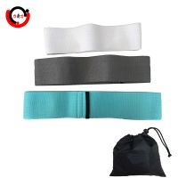 Fitness cotton fabric hip circle resistance bands for exercise