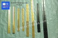 brass piano hinges, Golden continuous hinges