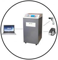 SE-10MAX large degaussing chamber hard drive degausser