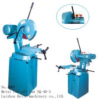 fast speed steel tube / steel flate chop saw with abrasive blade cutting machine