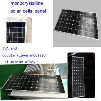 Top Supplier High Efficiency mono Solar Panel 250w PV Module For Solar Power System