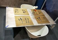New Parke Mellon Aluminum furniture Dinner table by PAKFEN
