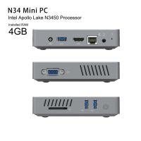 Mini Computer N34 Fanless