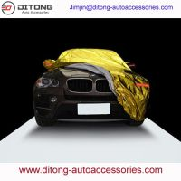 Universal Size Gold Color Aluminum Film SUV Car Covers