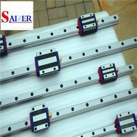 15mm / 20mm / 25mm / 30mm / 35mm / 45mm Guide Width linear rail with hiwin block carriage linear motion