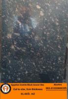 Egyptian granite tiles Black aswan