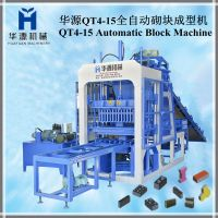QT4-15 full-automatic concrete block making machine