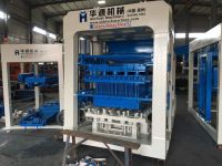 QT12-15 full-qutomatic concrete block making machine