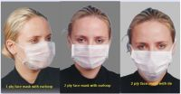 Disposable Face Masks carbon masks 2 ply 3ply earloop