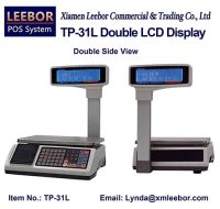 TP-31L Electronic Pricing/ Counting LCD Scale, Supermarket Retail Receipt/ Bill Printing Scales, POS Price Computing 15/ 30kg Weighing Support Arabic/ Spanish/ Hindi