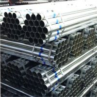 ASTM A500 pre galvanized steel pipes hollow section