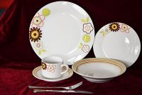 16pcs porcelain dinnerware with decal printing
