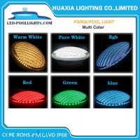 18W Hot Item 12V IP68 LED Par 56 Swimming Pool Lights Par56 lamp replacement 300W With Niche