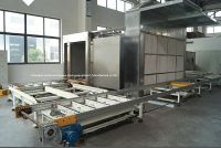 Microwave Oven Tunnel Drying Equipment Product Line for Wood and Furniture