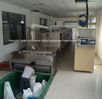Industrial Microwave Dryer Chemical Powder Continuous Belt Tunnel Drying Equipment