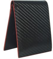 Slim Carbon Fiber PU Leather Wallet