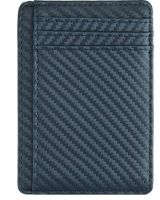Slim Carbon Fiber PU Leather Wallet