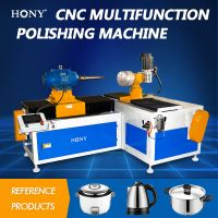 Grinding sanding Polishing finishing Machine for Metal Cookware