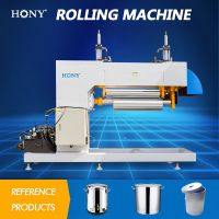 Hydraulic forming molding cone shape Rolling machine for Drum