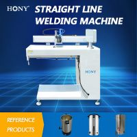plate trimming and beading seaming welding machine with Arc Weldder