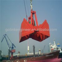 china supplier crane electric hydraulic remote control clamshell grab