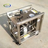 high pressure liquid filling booster pump  Pressure control bench