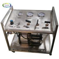 Professional pressurized natural gas booster pump with Stainless steel cabinet