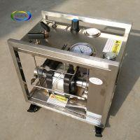 Maximum 6400 bar high pressure small water booster pump for liquid/chemical/water/oil