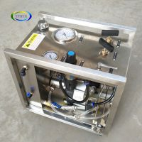 Pneumatic Portable CO2 Booster Pump for Fire Extinguisher Hydraulic Test Bench